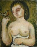 Woman and Bird, 1928
