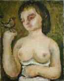 Woman and Bird, 1928