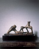 Small Maquette No. 2 for Reclining Figure, 1950