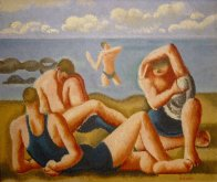 Swimmers Resting, c1925