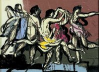 Variation Poussin Dancers, 1952