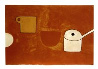 Cup, Bowl, Pan, Browns and Ochres, 1970