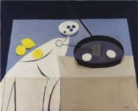 Frying Pan, Eggs and Napkin, 1950