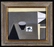 Still Life with Bowl and Olives, 1950