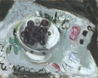 Dish of Grapes, c1957