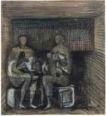 Two Women and Children, 1941