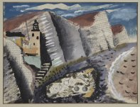 Beach and Star Fish – Seven Sister's Cliff Eastbourne, 1933-34