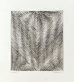 Untitled Moire Print (ENG 35), 1970