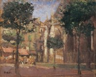 La Rue du Mortier d'Or, Dieppe, c.1906