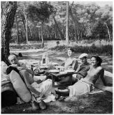 Picnic, Ile Saint-Marguerite , Cannes, France, 1937