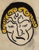 Mask Head, c1912