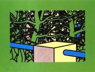 Garden with Pines, 1975