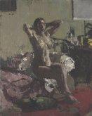Nude Reclining, La Coiffure, 1905