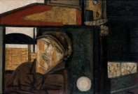 Sleeping Lorry Driver III, c1947