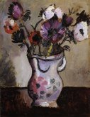 Anemones in a Decorated Jug, 1925