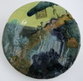 Commemorative Plate no.27 (Death Place of Abstract Art), 1986