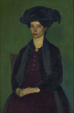 Portrait of Edie McNeill, 1909