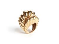 Italian Gold Ring, c. 1970