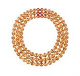 Triple Round Bead necklace