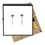 Cornflower Earrings (long), 2016