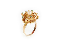 Emerald & Pearl Ring, 1970