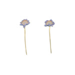 Natura Morta: Scabius Drop Earrings, 2016