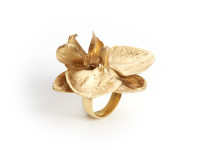 Large Orchid Ring, 2009