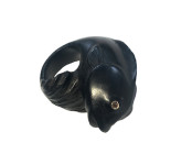 Ebony Fish Ring
