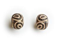 Gem Set Earrings