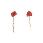 Poppy Earrings (long), 2016