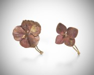 Two Flower Hair Pins