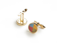 Colour Wheel Cufflinks, 2008