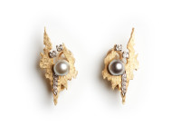 Andrew Grima Earrings (clips), 1977
