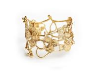 Hortensia Cuff Bracelet