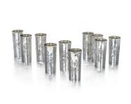 Silver Italian Beakers