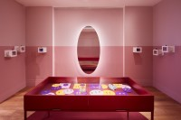 Installation of Glow by Cora Sheibani.