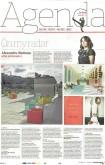 David Hockney, Early Drawings: Observer, Alexandra Shulman, On My Radar