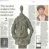 Giacometti: A Line Through Time reviewed in Telegraph