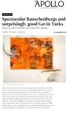 Robert Rauschenberg - Apollo and The Art Newspaper