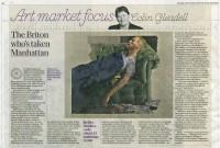 Diarmuid Kelley in The Daily Telegraph