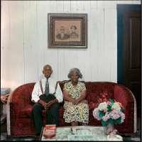 Mr. and Mrs. Albert Thornton, Mobile, Alabama, (37.003) ©The Gordon Parks Foundation