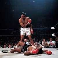 Muhammad Ali KO's Sonny Liston, Lewiston, Maine