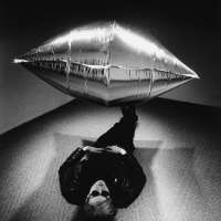 Warhol Under the Silver Cloud, New York