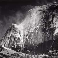 Half Dome, Blowing Snow, Yosemite National Park, Ca