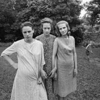 Edith, Ruth and Mae, Danville, Virginia