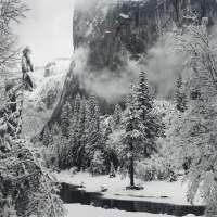 El Capitan, Yosemite Valley, CA, Winter