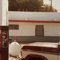 Brown Truck, Oil Company
