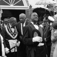 Jazz Funeral, New Orleans, Louisiana, No. 1