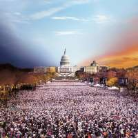 Presidential Inauguration, Washington D.C., Day to Night