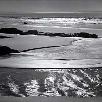 Refugio Beach, California, From Portfolio One: Twelve Photographic prints by Ansel Adams